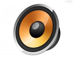 glossy-speaker-icon